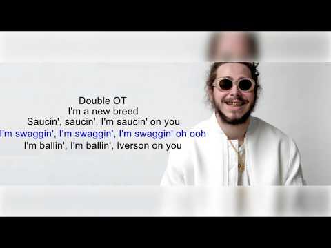 Post Malone - White Iverson Lyrics