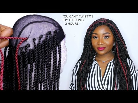 HOW TO DO CROCHET BRAID WIG WITH SENEGALESE TWIST | XTREND HAIR STORE