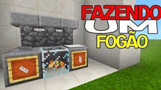 COMO FAZER UM FOGÃO BEM FERA (Sem Mods) NO MINECRAFT PE 1.9 (Minecraft Pocket Edition)