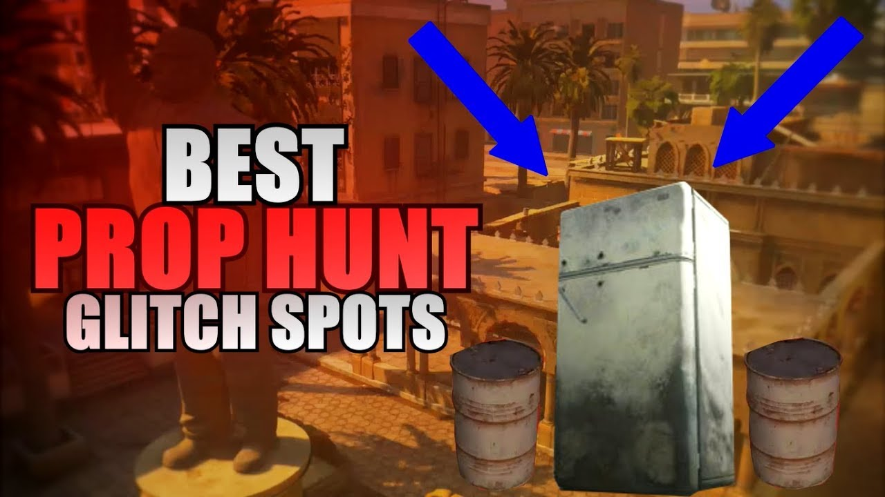 MWR - Best *PROP HUNT* Glitches and Hiding Spots!