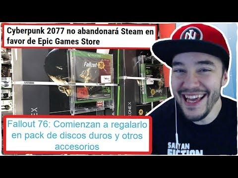 CYBERPUNK 2077 NO dejará STEAM en favor de EPIC GAMES STORE, FALLOUT 76 y HOLLOW KNIGHT:SILKSONG thumbnail