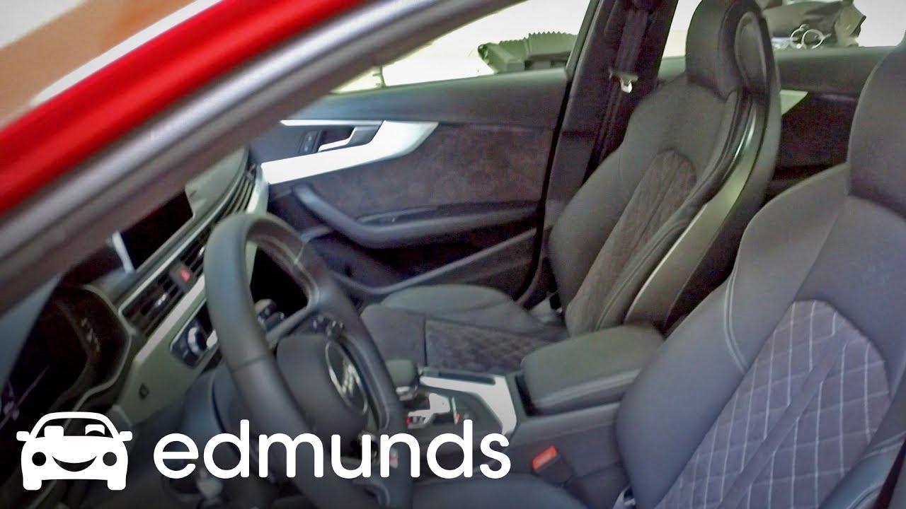 2018 Audi S4 Rad Cars Deserve Rad Seats Edmunds First Impression Youtube