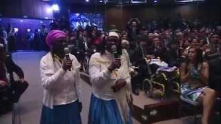 Artistas Ecuatorianos participan en el Informe a la Nación