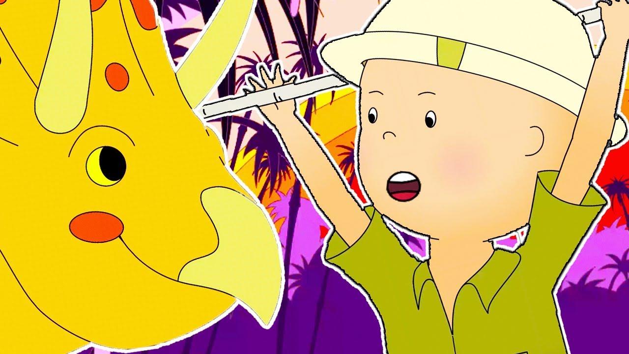 Caillou en fran ais caillou et les dinosaurs dessin anim dessin anim pour b b nouveau - Dessin caillou ...