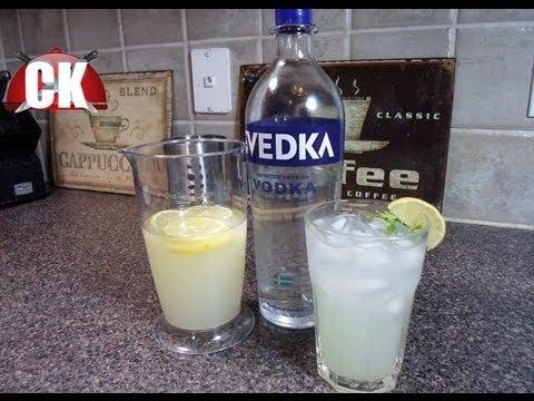 How To Make Vodka Lemonade - Easy Cooking!