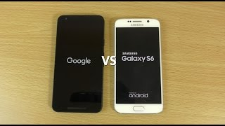 Nexus 5X VS Samsung Galaxy S6 - Speed & Camera Test!