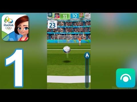Rio 2016 Olympic Games - Gameplay Walkthrough Part 1 - Football (iOS, Android)