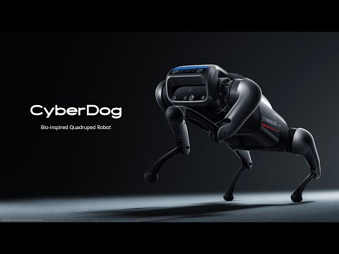 Xiaomi Cyber Dog, A Bio-inspired Quadruped Robot