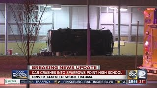 Sparrows Point High School, Middle School closed after crash