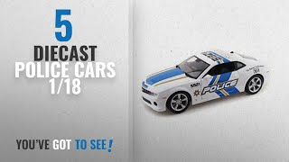 Top 10 Diecast Police Cars 1/18 [2018]: 2010 Chevy Camaro RS SS 1/18 Police Car