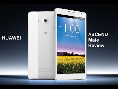 Huawei Ascend Mate review en español