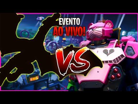 EVENTO AO VIVO - ROBÔ X MONSTRO + SORTEIO DA SKIN IKONIK + Loja de hoje fortnite SKINS NOVAS!!