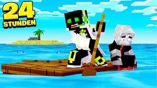 24 STUNDEN auf OFFENEM MEER?! - Minecraft [Deutsch/HD]