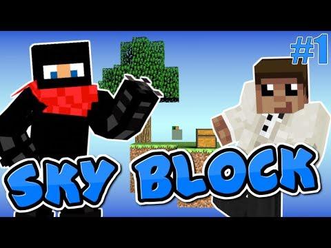 Skyblock #1: Derps on a floating island /W Blacksmoke