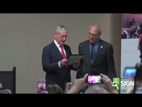 Dr. Zirkle honored by Secretary of Defense James Mattis
