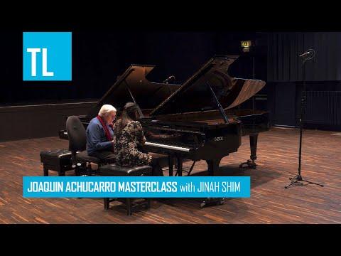 Joaquín Achúcarro Masterclass with Jinah Shim playing Ravel - La Valse