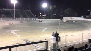 Orange Show Stadium - San Bernardino, California - Last ever asphalt race