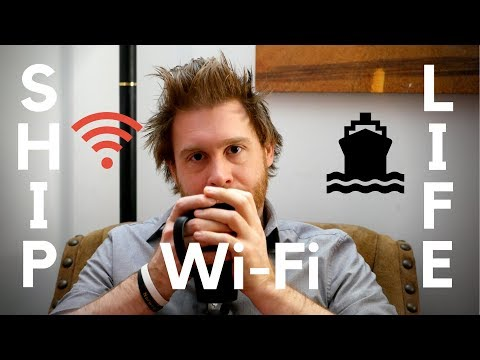 Do cruise ships have good Wi-Fi?