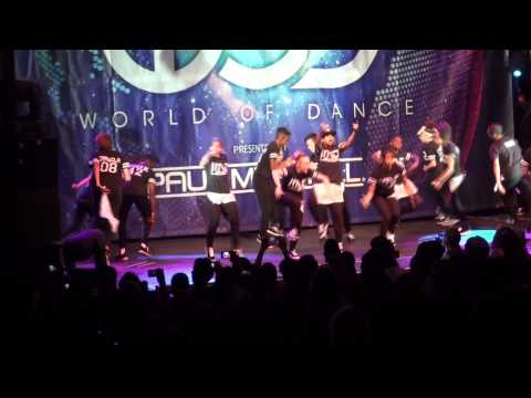 IMD at World of Dance UK 2014
