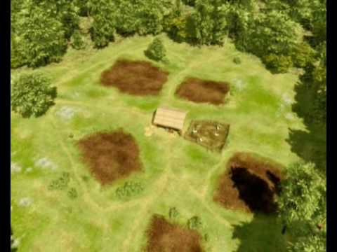 Early Neolithic house at Gortore, Co. Cork, Ireland