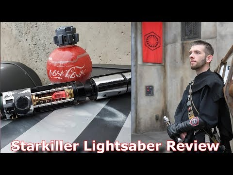 Star Wars Force Unleashed Starkiller Custom Lightsaber Review