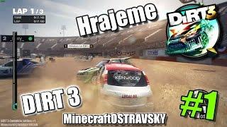 #1 | DIRT 3 | Hrajeme Cross Rally, Rally a Krádeže VLAJEK | FullHD