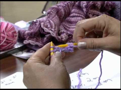 Mulher.com 03/09/2012 - Lenço ou Gola 1/2