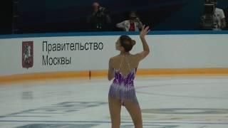 Софья Самодурова ПП  Контрольные прокаты 2018-2019 Sofia Samodurova FS Open Skates