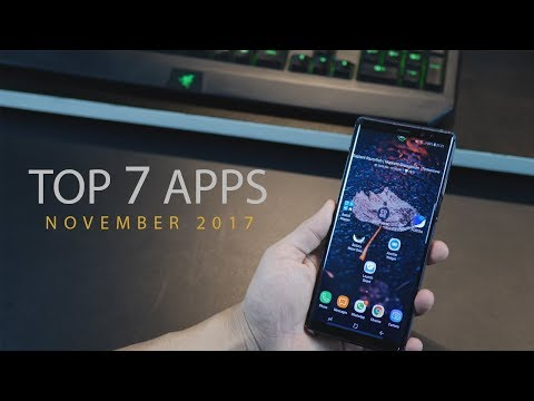 Top 7 Best Apps for Android - November (2017)