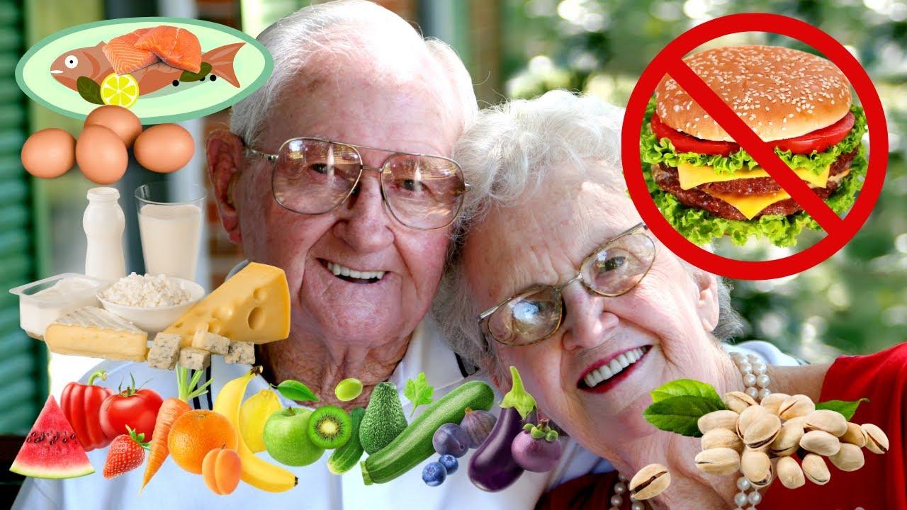 🍏 🥛 🥚 Alimentos Para Las Personas De La Tercera Edad y Que Es Lo Que NO Deben Comer 👵👴🥝🍌
