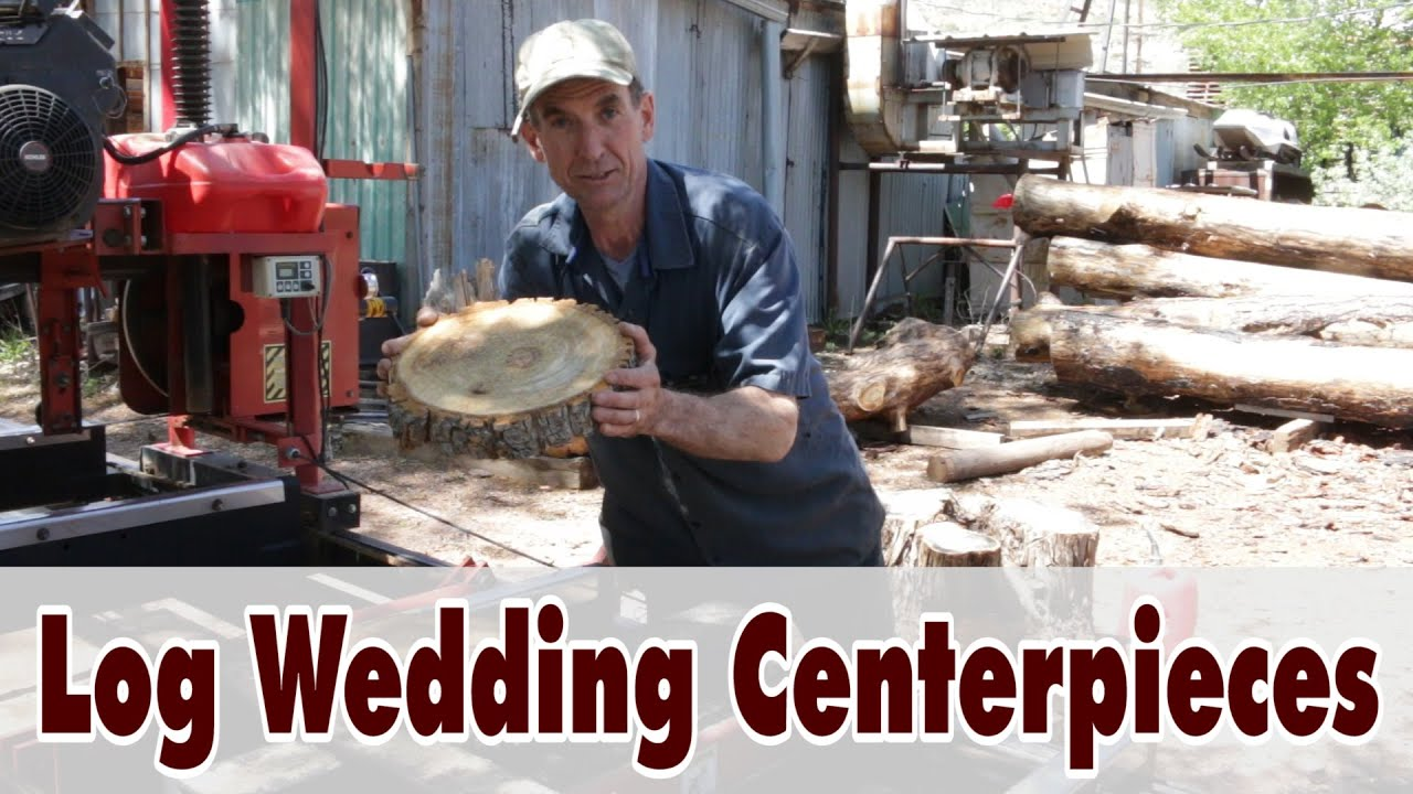 Log Chargers Wedding Centerpieces Youtube