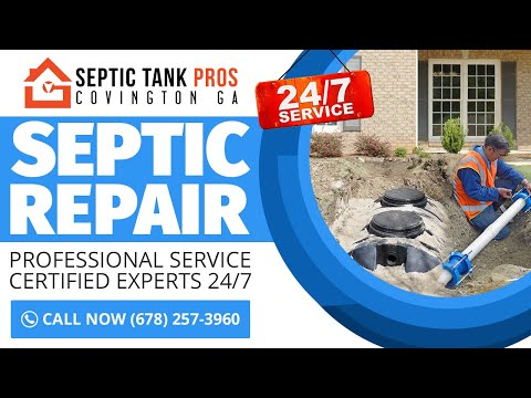Fiberglass and Plastic Septic Tanks: Service Covington GA