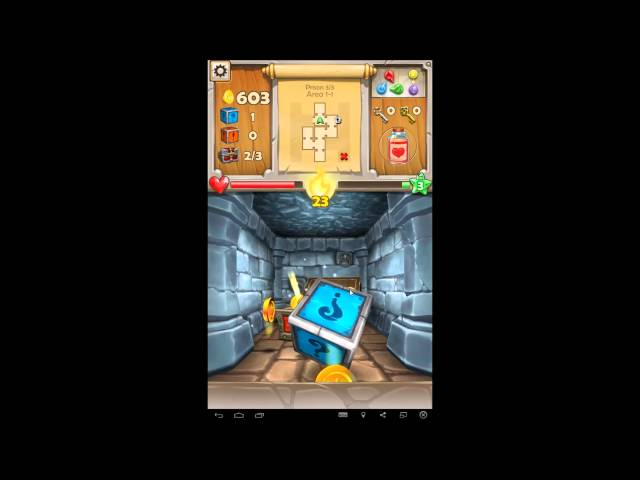 Dungeon Monsters - RPG android game first look gameplay espau00f1ol