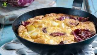 Traditional Smoked Ham Omelette (froytalia)