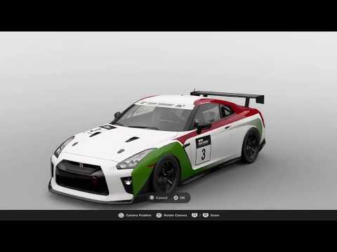 GT Sport live stream GTR Livery Mexico edition