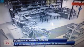 Bursa'daki deprem İstanbul'u korkuttu..