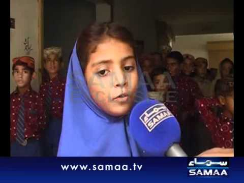 Sindhi cap, Ajrak added in uniform report by Zahid Rajpar SAMAA TV Naushahro feroze
