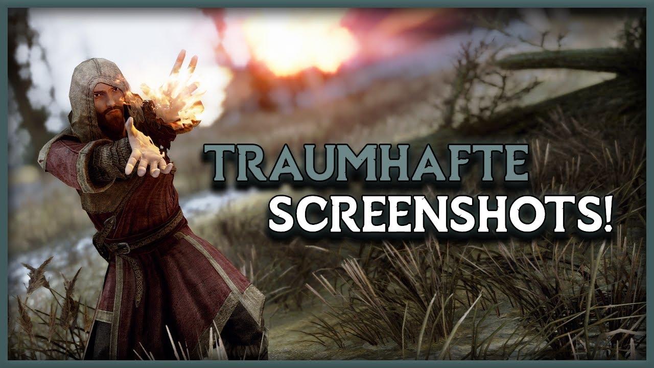 So machst du TRAUMHAFTE SCREENSHOTS! | SKYRIM SE