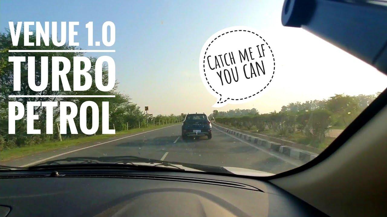 Chasing Hyundai Venue 1.0 Turbo Petrol | Ford Aspire