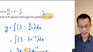 Integral Calculus Exam Review (1 of 5: Determining function from gradient)