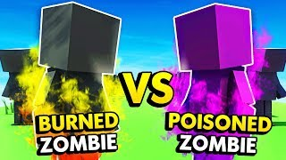 BURNED AND POISONED ZOMBIES IN ANCIENT WARFARE 3 (Ancient Warfare 3 Funny Gameplay)