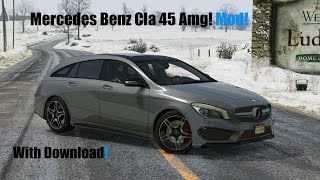 Mercedes Benz Cla 45 Amg GTA V Mod! With Download!