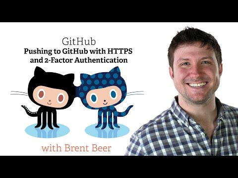 Pushing to GitHub with HTTPS and 2-Factor Authentication
