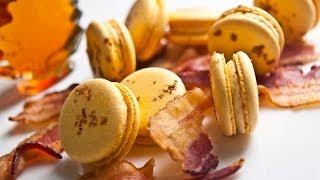 French Macarons (part Ii): Maple Bacon Buttercream - Macaron Magic, Hosted By Jialin Tian