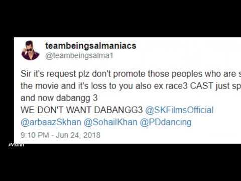 Fans Say No To Dabangg 3 - Bollywood...