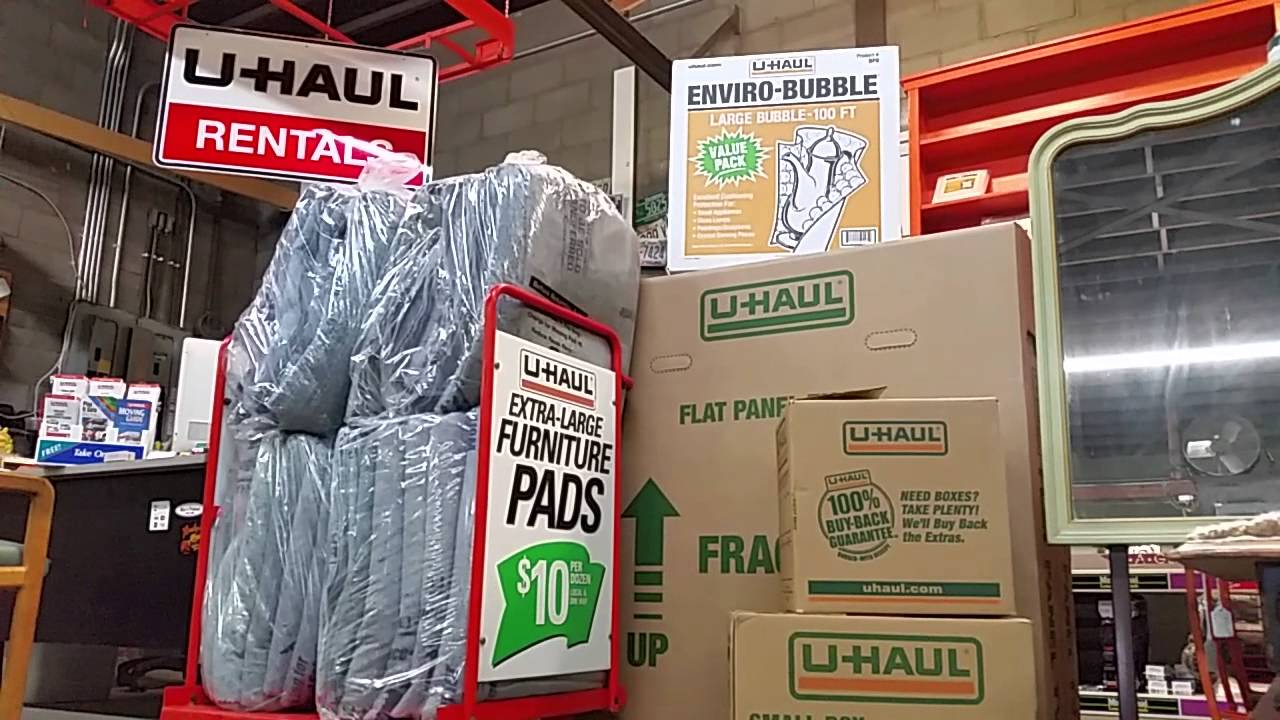 Asheville, NC U Haul Rentals Of Furniture Moving Pads For Wooden Household  Items Local Or One Way   YouTube