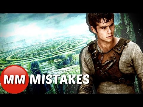 The 10 Craziest Maze Runner Movie MISTAKES You Didn't Notice | The Maze Runner