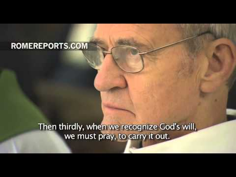 Pope: 3 steps to follow God's Will