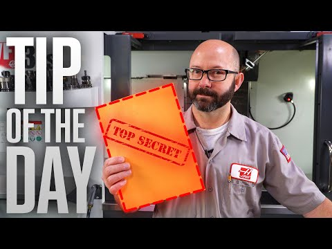 9 Lines Of Code Every CNC Machinist Needs To Know! - Haas Automation Tip Of The Day