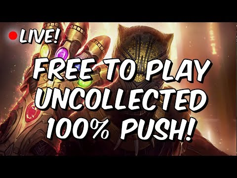 Uncollected Rise Of The Black Panther 100%! - Free To Play Push - Marvel Contest Of Champions